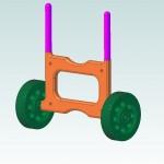 Kayak Trolley Model-Alibre
