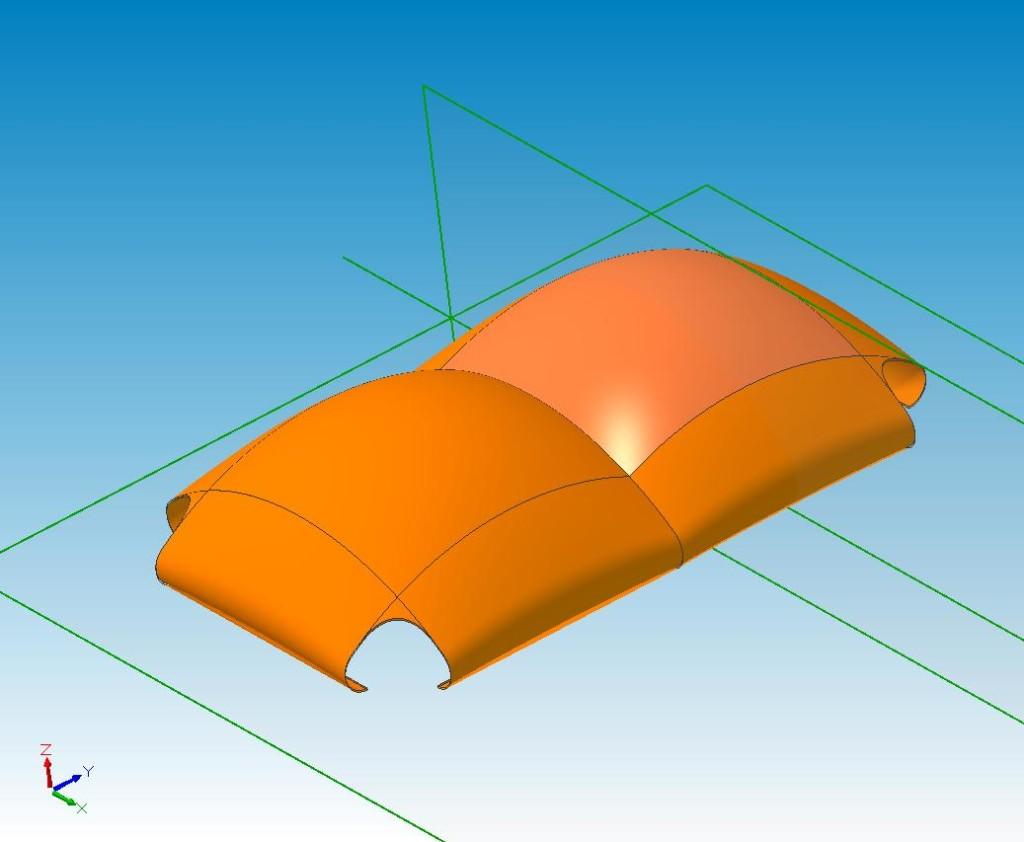 Roof Concept 40mx80m