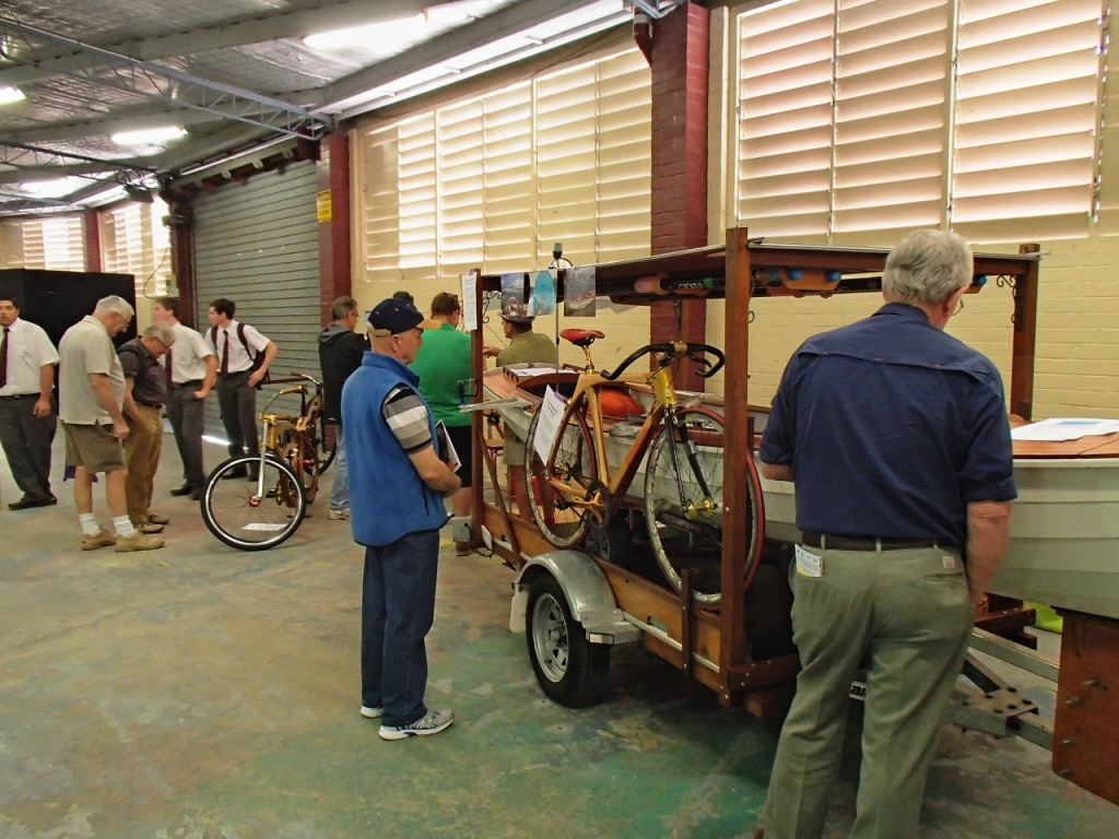 Timber & Wood Stand - Silkwood Cycles