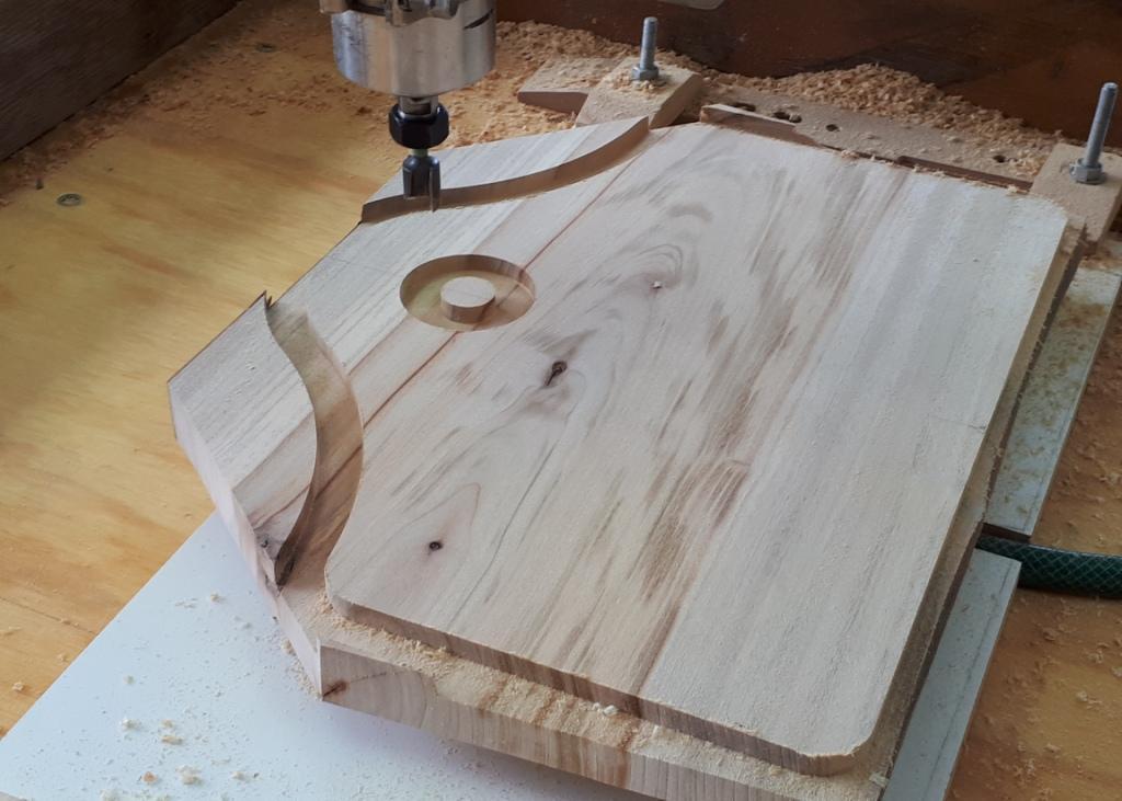 Roughing a cutting board